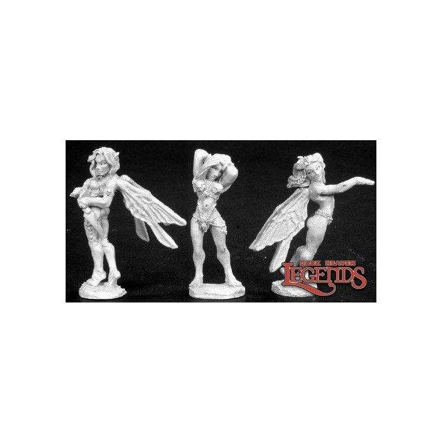 Fairies (2) & Nymph
