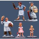 Delancy Street Characters