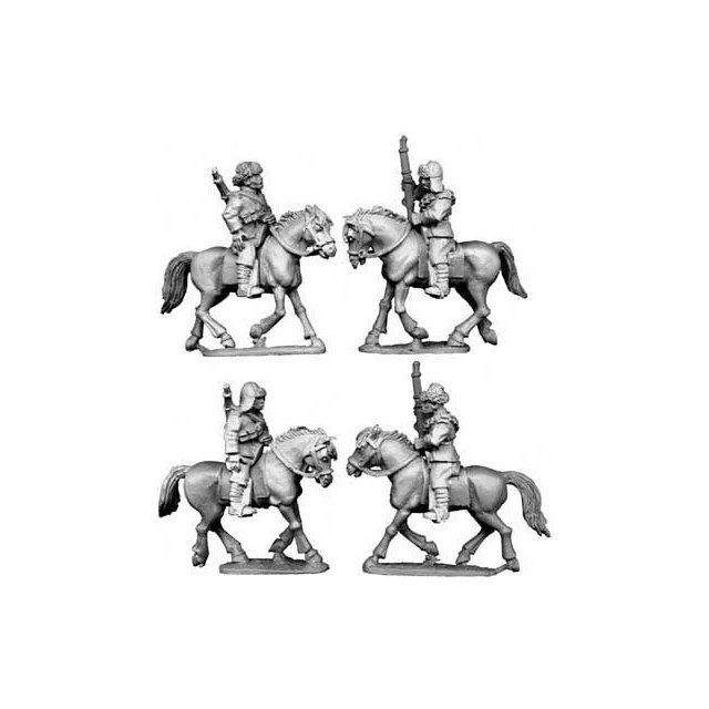 Chinese Cavalry in Fur Caps (3)