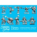 15mm Northlander Characters (10)