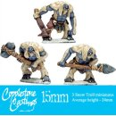 15mm Snow Trolls (3)