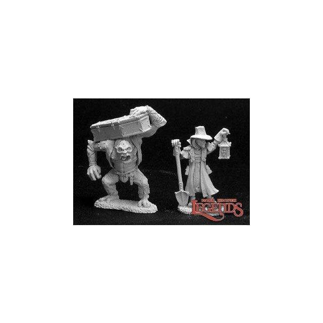Townsfolk VI: Gravedigger & Henchman (2)