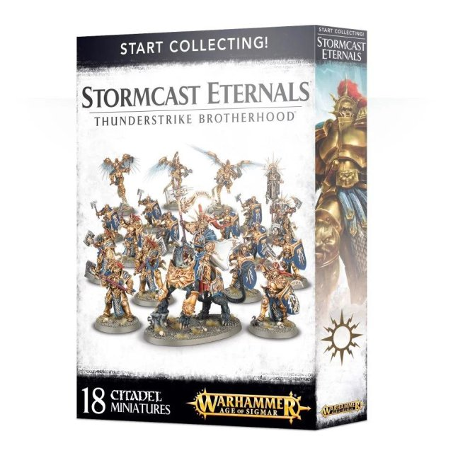 Start Collecting! Stormcast Eternals - Thunderstrike Brotherhood