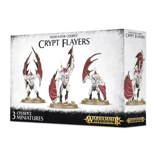 FLESH-EATER COURTS CRYPT FLAYERS / Haunter Courtier