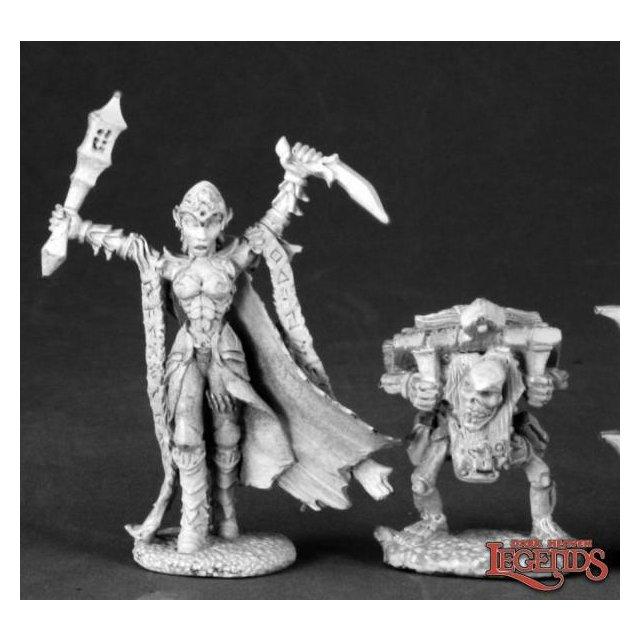 Nathrae, Dark Elf Cleric