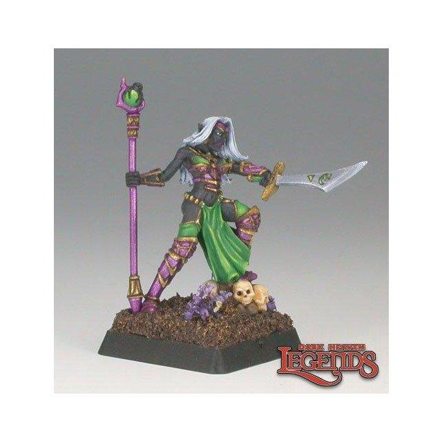 Carinth, Dark Elf Sorceress
