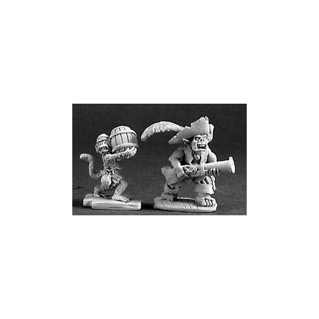 Goblin Pirate and Powder Monkey