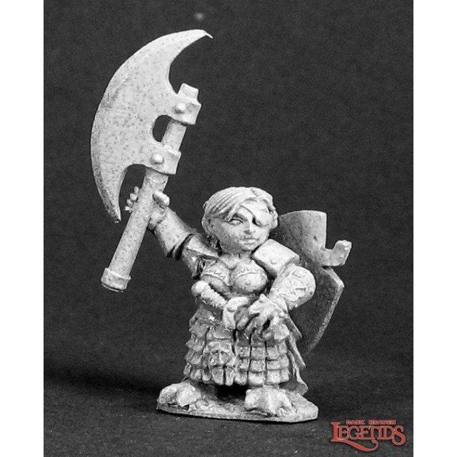 Ursula Silverbraid, Female Dwarf Warrior