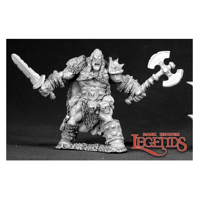 Kord the Destroyer, Barbarian