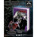BATMAN MINIATURE GAME RULEBOOK (ALT.COVER) inkl JOKER RED...