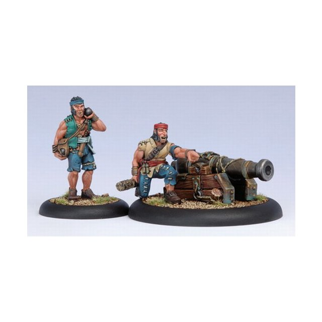 Mercenary Sea Dog Deck Gun Crew Blister