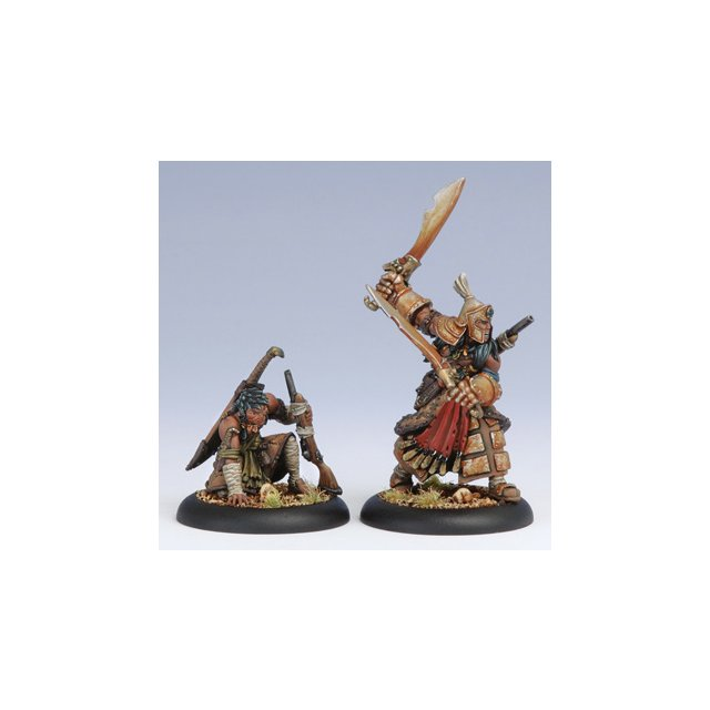 Protectorate Allies Idrian Skirmisher Chieftain & Guide (2)