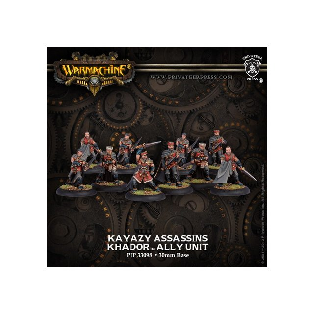 Khador Allies Kayazy Assassins Unit (repack)