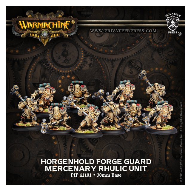 Mercenary Horgenhold Forge Guard Unit (10)
