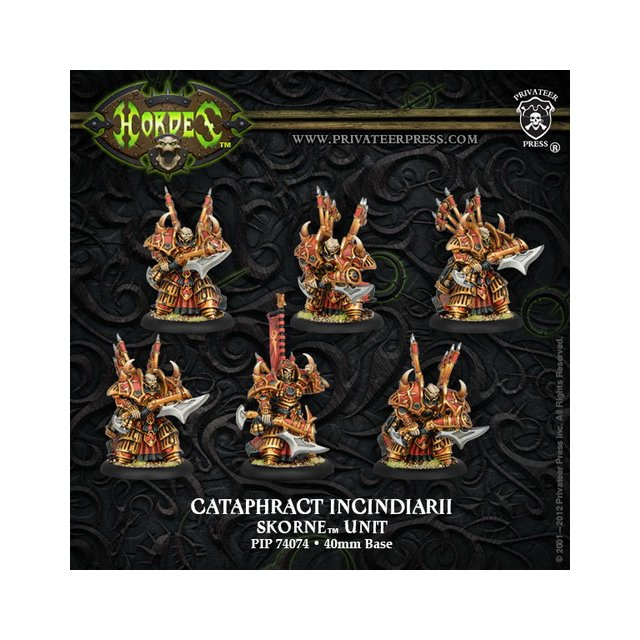 Skorne Cataphract Incindiarii Unit Box (plastic)