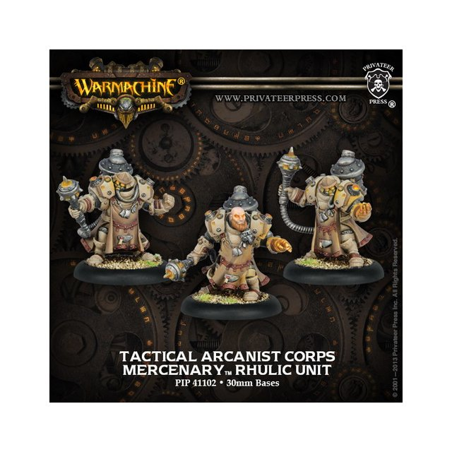 Mercenary Tactical Arcanist Corp Unit (3) Blister