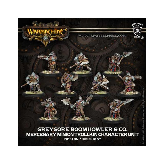 Mercenary Boomhowler & Co Unit (10)