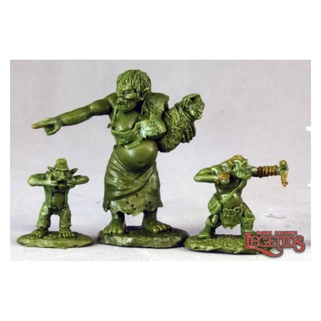 Dungeon Tribes: Orc Matron and Brood