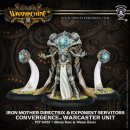 Cyriss Iron Mother Directrix & Servitors Warcaster Unit (3)