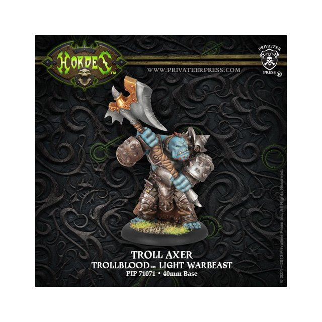 Trollblood Troll Axer Light Warbeast Box (plastic)