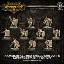 Mercenary Hammerfall High Shield Gun Corps Unit (10) Box