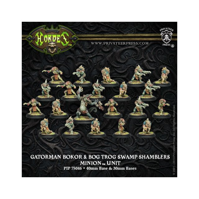Minion Gatorman Bokur & Swamp Shamblers Unit (21) Box