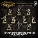 Mercenary Cephalyx Mind Bender & Drudges Unit (10) (plastic)