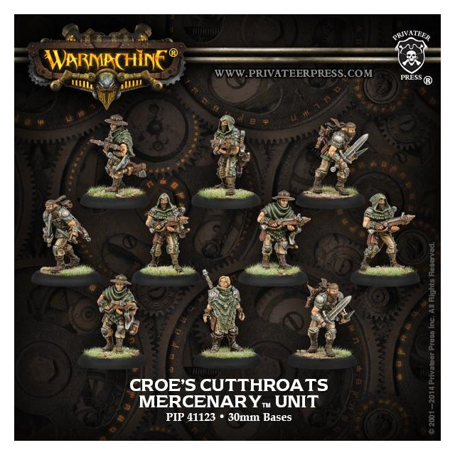 Mercenary Croes Cutthroats (10) REPACK