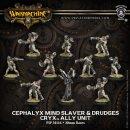 Cryx Ally Cephalyx Mind Slaver & Drudges Unit...