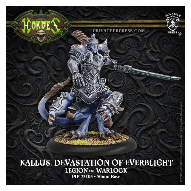 Legion Warlock Kallas, Devastation of Everblight (plastic)