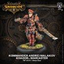 Khador Warcaster Kommander Andrei Malakov