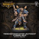 Trencher Warcaster Lieutenant Cygnar Solo (resin/metal)