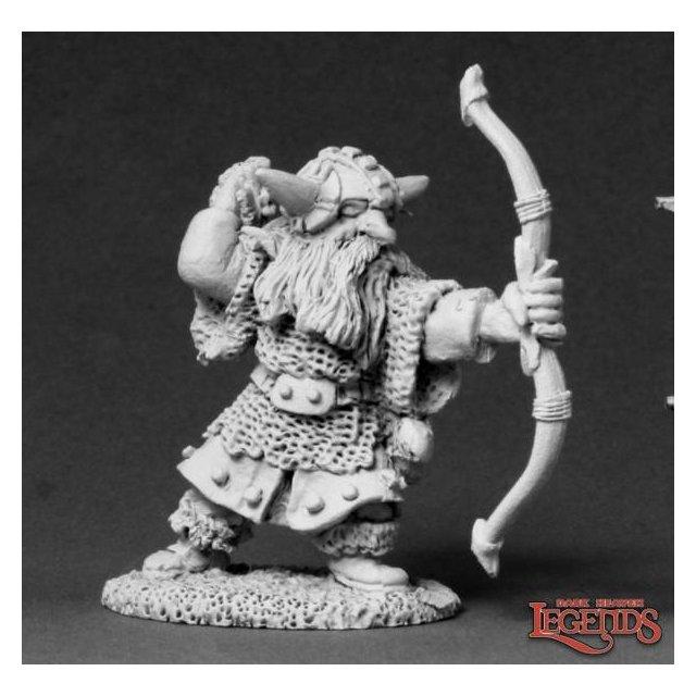 Horgun Blackfletch, Dwarf Bowman