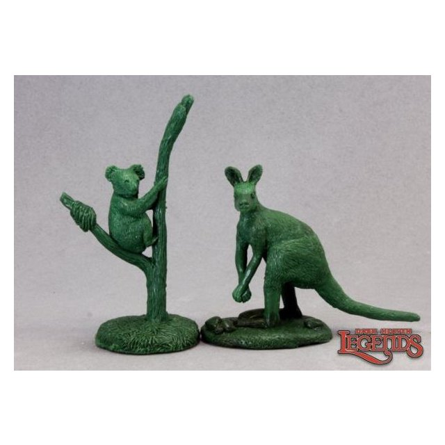 Animal Companions 3: Aardvark, Kangaroo, Koala