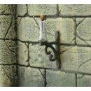Candelabrum in wrought iron