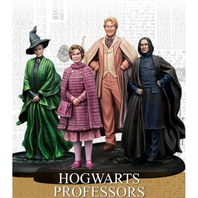 Harry Potter Miniaturen Hogwarts Professoren (EN)