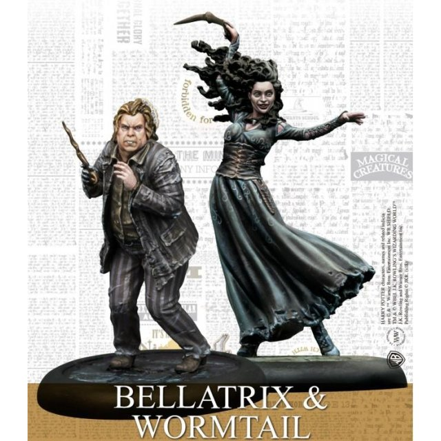 Harry Potter Miniaturen Bellatrix & Wurmschwanz (EN)