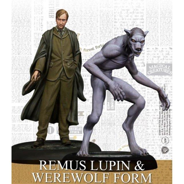 Harry Potter Miniaturen Remus Lupin & Werwolfform (EN)
