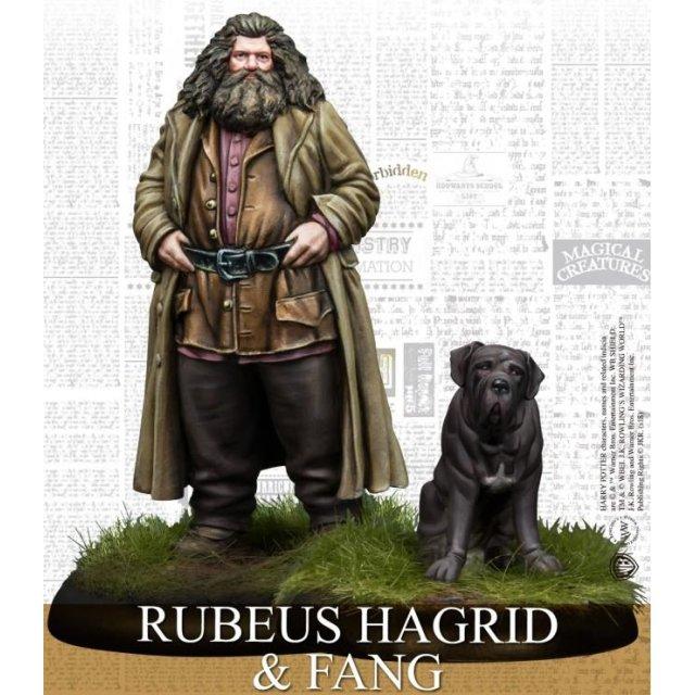 Harry Potter Miniaturen Rubeus Hagrid & Fang (EN)
