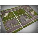 Walking Dead Town tiles 6 Teile 2 x 2 Mousepad