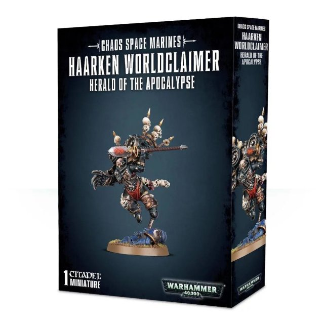 Chaos Space Marines: Haarken Worldclaimer - Herold of the Apocalypse