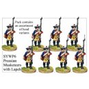 Prussian Musketeers With Lapels Marching (8)