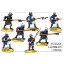 Medieval Halberdiers/Billmen (8)