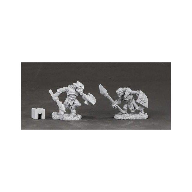 Armored Goblin Spearmen