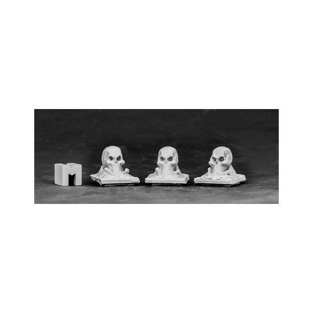 Tombstone Finial - Skull