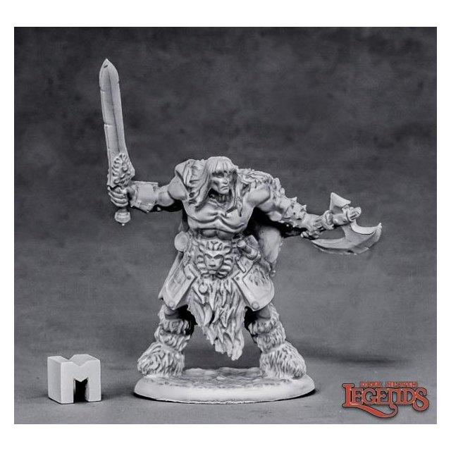 Ankoa, Barbarian Hero