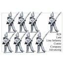 Late Line Infantry Centre Company Advancing (8)