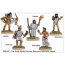 The Gods Apollo, Hermes, Dionysus, Aphrodite and Hestia