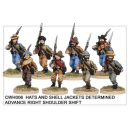 Infantry in Hats and Shell Jackets Advancing (8)
