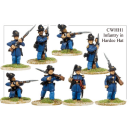 Infantry in Hardee Hats and Frock Coats (8)